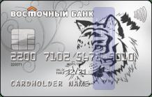 Кредитная карта Рассрочка от ПАО КБ «Восточный»