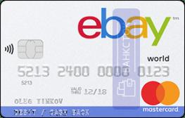 Кредитная карта eBay от АО «Тинькофф Банк»