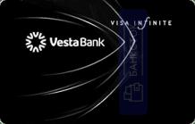 Оформить дебетовую карту Infinite от Инвестиционный Банк «ВЕСТА» (ООО)