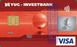 Оформить дебетовую карту Классическая от ОАО «Юг-Инвестбанк»