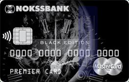 Кредитная карта Black Edition от АО НОКССБАНК