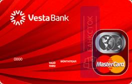Оформить дебетовую карту Стандартная от Инвестиционный Банк «ВЕСТА» (ООО)