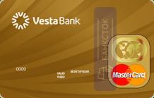 Оформить дебетовую карту Золотая от Инвестиционный Банк «ВЕСТА» (ООО)